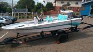 Lancha (barco) aceito troca por carro