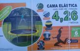 Pula pula Cama Elástica 4,26m com Rede de Proteção