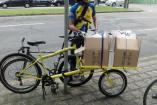 Bicicleta Cargueira (Cargo Bike) Shimano 21v, aros aero 29 / 20