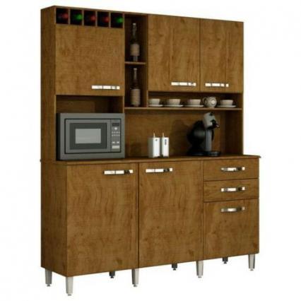 Cozinha Kit Topazio 6 portas