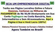 Página Lucrativa – Geradora de Renda Extra na Internet!