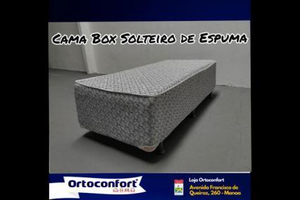 Cama box solteiro!!@##