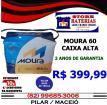 Bateria 60 Ah Moura Cx Alta 2 anos Garantia (Entrega e Instalação)
