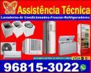 Consertos de geladeira, freezer,ar condicionado e Máquinas de lavar
